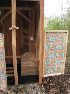 Les toilettes sèches ou TLB, toilette à litière biomaîtrisée